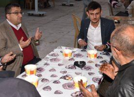 Başkan Bülent Öz Ülkü Ocaklarının Barış Pınarı Harekatı İçin Okuttuğu Mevlitte Hemşehrileriyle Birlikte Dua Etti